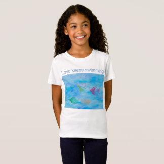 Love keeps swimming T-Shirt