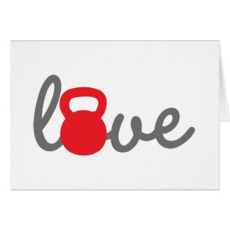 Love Kettlebell Red Card