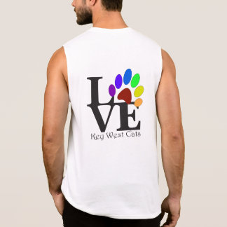 LOVE Key West Cats Muscle Shirt