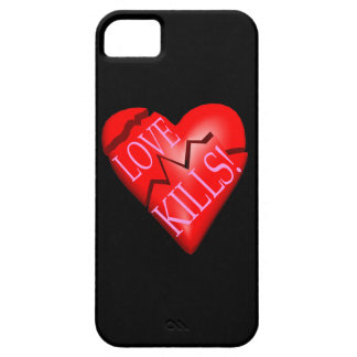 Love Kills Barely There iPhone 5 Case