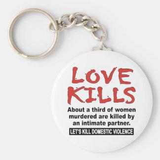 Love Kills Key Ring