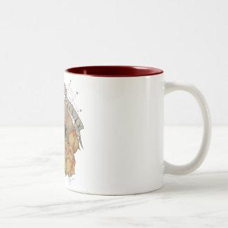 Love Kills Slowly Two-Tone Coffee Mug