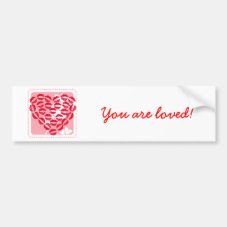 Love Kisses Bumper Sticker