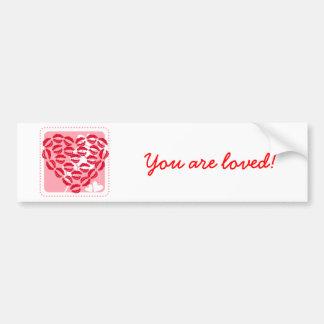 Love Kisses Bumper Stickers