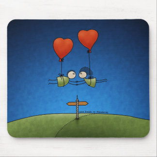 Love Knows No Boundaries Mouse Pad