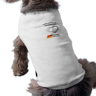 Love Knows No Boundaries! Sleeveless Dog Shirt