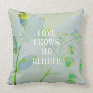 Love Knows No Gender Cushion