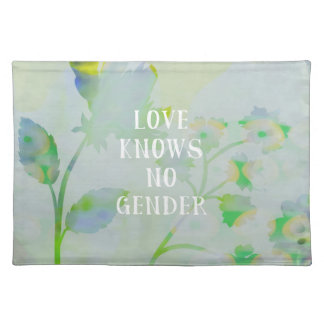 Love Knows No Gender Placemat