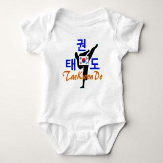 ❤☯✔Love Korean Martial Art-TaeKwonDo Baby Jersey Baby Bodysuit