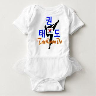 ❤☯✔Love Korean Martial Art-TaeKwonDo Baby Tutu Baby Bodysuit
