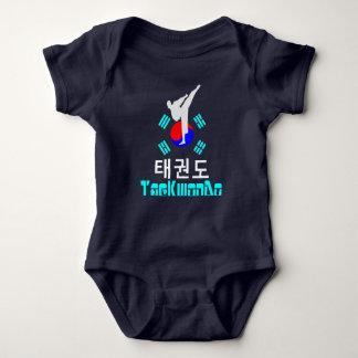 ❤☯✔Love Korean Martial Art-TaeKwonDo Jersey Baby Bodysuit
