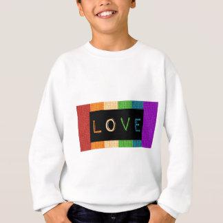 Love Label LBGT Pride and Ally Support Sweatshirt