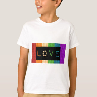 Love Label LBGT Pride and Ally Support T-Shirt