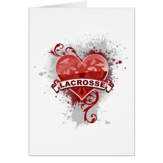 Love Lacrosse Card