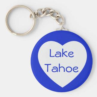 Love Lake Tahoe California / Nevada Heart Keychain