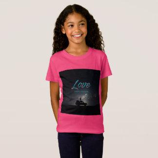 ... Love Lasts Forever ... Girl's T-Shirt