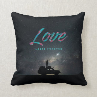 ... Love Lasts Forever ... Throw Pillow