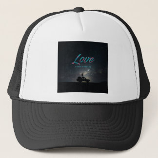 ... Love Lasts Forever ... Trucker Hat