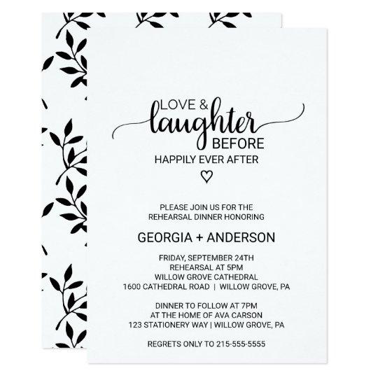 4e3e9b5e0b1b Love   Laughter Before Happily Ever After Invitation