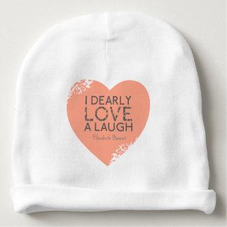 Love & Laughter Lane Austen Pride Prejudice Quote Baby Beanie