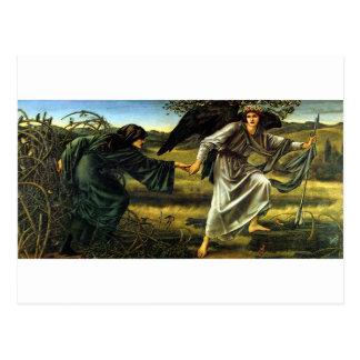 Love Leading The Pilgrim by Edward Burne-Jones Postcard