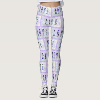 Love Leggings in Lilac