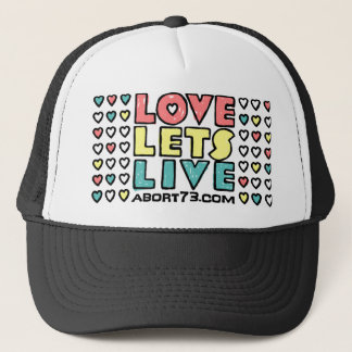 Love Lets Live (Alternate) / Abort73.com Trucker Hat