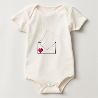 Love Letter Baby Bodysuit