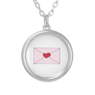 Love Letter Round Pendant Necklace
