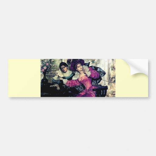 Love letter painting bumper stickers