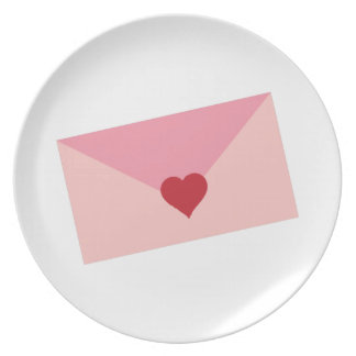 Love Letter Party Plates