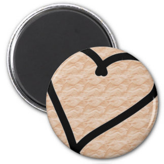 Love Letters 6 Cm Round Magnet