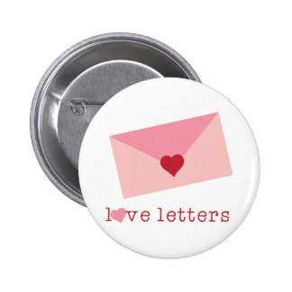 Love Letters 2 Inch Round Button