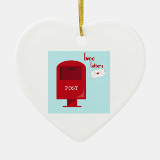 Love Letters Christmas Ornaments
