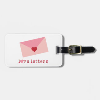 Love Letters Tags For Luggage