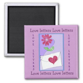 Love letters magnet