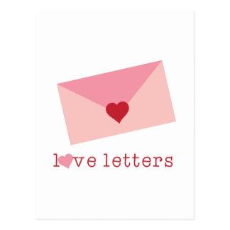 Love Letters Postcard