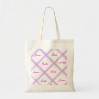 Love Liebe Amore Tote Bags