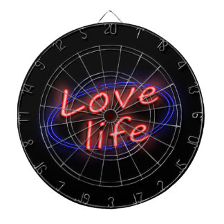 Love life. dartboard