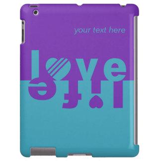 LOVE LIFE iPad cases