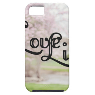 Love Life iPhone 5 Cover