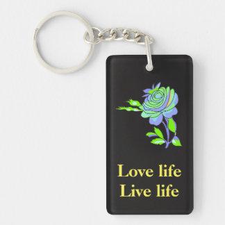 Love life Live life keychain