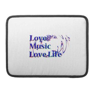 "Love Life Macbook ro 13"" Sleeves For MacBook Pro"