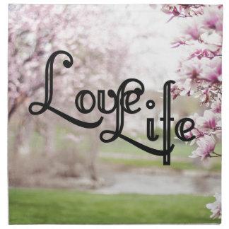 Love Life Napkin
