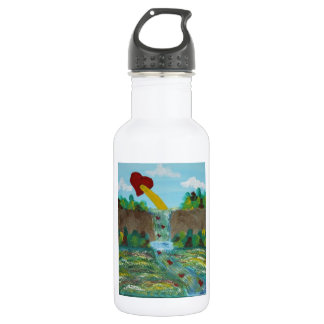 Love, Life, Peace 532 Ml Water Bottle