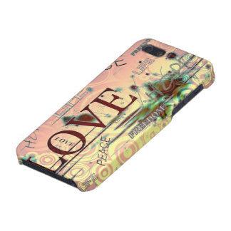 Love, life, peace graphics background iphone case. iPhone 5 covers