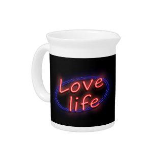 Love life. pitcher