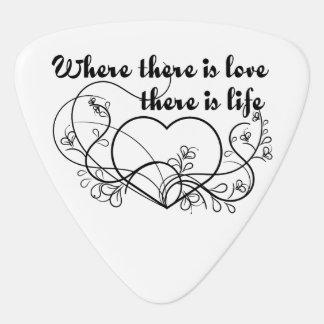 Love Life Plectrum
