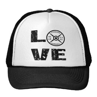 Love Lifting Weights Cap