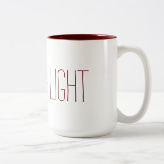 Love&Light Two-Tone Coffee Mug